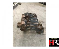Quick hitch (Snelwisselsysteem) for wheelloader Volvo L150