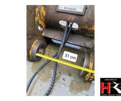 Quick coupler for Caterpillar excavators 320D, 323D and 325D