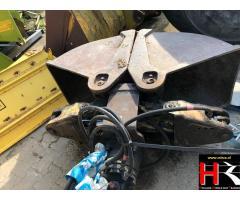 Hinged bucket for Hitachi EX60